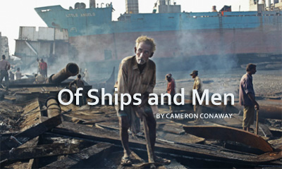 Of Ships and Men by CAMERON CONAWAY